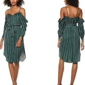Bardot Paloma Stripe Midi Dress